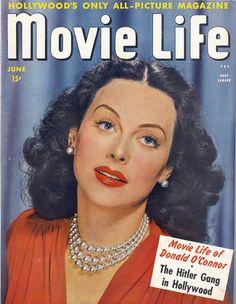 Hedy Lamarr-Movie Life magazine-Jun 1944
