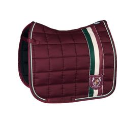 Eskadron Heritage Big Square Saddle Pad - Merlot