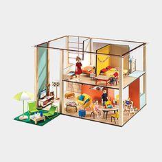 Cubic Dollhouse Set