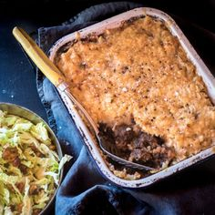 Potato-Top Guinness Pie with Savoy Cabbage, Bacon and Hazelnuts by Nadia Lim | NadiaLim.com