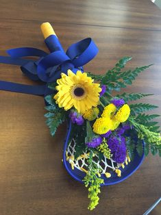 Senior night bouquet
