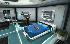 Subnautica Base, Subnautica Concept Art, Cosmos, Spaceship Interior, New Age, New Room, Kids Decor, Video Games, Sci Fi