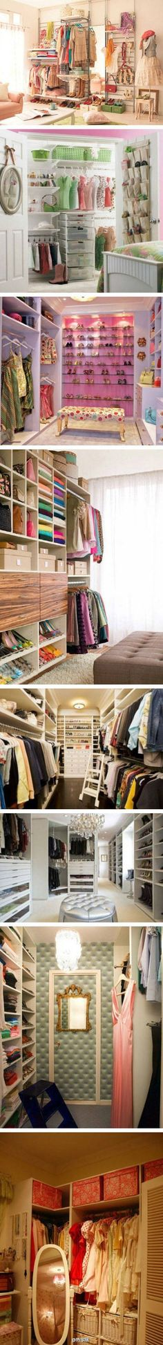 All about the closets