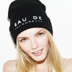 The Fashionable PREMIÈRE BEANIES completely MADE IN ITALY are now available at WWW.FINAEST.COM! #finaest #premierebeanies #beanies #fashion #winter #hat #black #womenswear #madeinitaly #mode #paris #eaudelaundrette