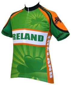 World Jerseys Mens Ireland Cycling Jersey Ireland Medium -- You can find  more details by 140da34be