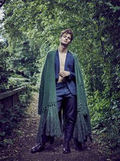 Burberry Style Edit: Ben Allen for Harpers Bazaar Men Thailand