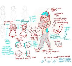 Thank you @kyraeliana for letting me share this to hopefully also help benefit others. More to come. Cheers! #learn #learning #teach #teaching #art #artist #artwork #notes #drawover #character #characterdesign #fundamentals #principles #girl #girls