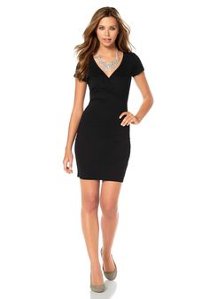 Buffalo Jerseykleid Dresses For Work, Black, Fashion, Gowns, Dress Skirt, Dress Work, Summer, Patterns, Moda