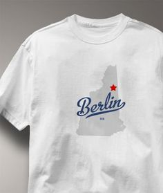 Cool Berlin New Hampshire NH Shirt from Greatcitees.com