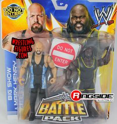 Big Show & Mark Henry - WWE Battle Packs 27 | Ringside Collectibles