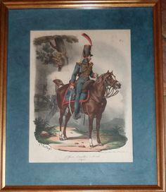 Encadrement - Officier d'artillerie à cheval - Hippolyte Bellangé Painting, Art, Picture Frame, Horse, Art Background, Painting Art, Kunst, Paintings, Performing Arts