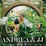 Andrea & JJ // San Francisco Wedding Photographer, Conservatory of Flowers