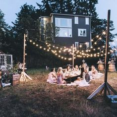 6 simple and fun party ideas the paisley box back yard bbq backyard wedding shower . Camping Parties, Grad Parties, Outdoor Parties, Sunset Party, A Little Party, Youre My Person, Beach Camping, Backyard Beach, Camping Glamping