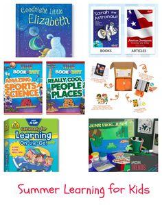 Summer Learning for Kids | MomTrends https://www.schoolzone.com/best-kids/travel