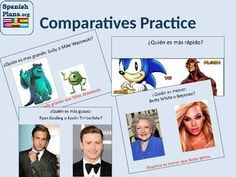 """User Review: Comparatives Practice """"This is probably the best thing I've bought on TpT. The kids LOVED the comparisons - they are very relevant to the students (grades 10-12). The price is unbeatable! I love that it is editable"""""""