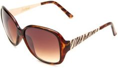 Southpole Womens 145SP TS Oval Sunglasses,Tortoise Frame/Brown Gradient Lens,One Size Southpole. $28.00