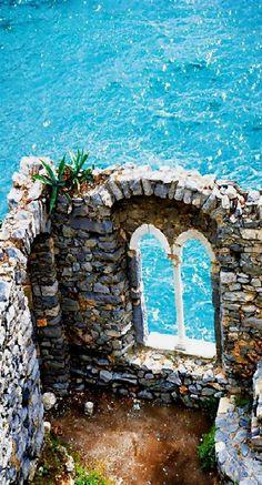 Ruins of Doria Castle, Portovenere, Italy #ItalyTravel