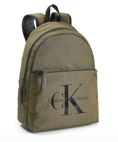 Calvin Klein Men's Reissue Canvas Tech Backpack Bag
