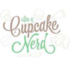 I'm a Cupcake Nerd t-shirt