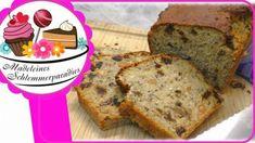 Vitalbrot in 5 Minuten - Rezept von Madeleines Schlemmerparadies Chili Dip, Banana Bread, Desserts, Food, Fitness, Youtube, Madeleine, Almond Milk, Oven