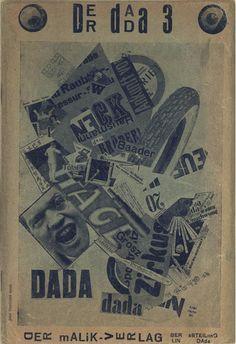 John Heartfield   Cover for Der Dada #3, Berlin   1920
