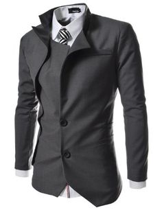 TheLees Mens unbalance 2 button china collar jacket, http://www.amazon.com/dp/B00BV2SXYG/ref=cm_sw_r_pi_awdm_lSHXtb0DG8FKE