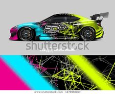 Abstract grunge background for wrap vehicles, race cars, cargo vans, pickup trucks and car livery. Vw Cars, Race Cars, Monster Car, Racing Car Design, Custom Sport Bikes, Car Accessories For Girls, Tuner Cars, Car Drawings, Car Covers