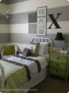 All of the bedding is DIY! I'm so impressed!