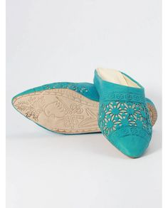 Pointed babouche slipper - Biyadina® - Perpetually Authentic