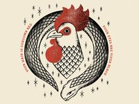 Coxcomb Red designed by Eric Nyffeler. Connect with them on Dribbble; Up Tattoos, Little Tattoos, Sleeve Tattoos, Chicken Illustration, Graphic Illustration, Rooster Images, King Card, Snake Drawing, Original Tattoos