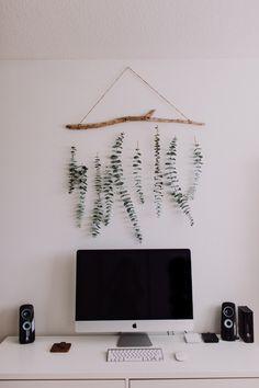 DIY | Eucalyptus wall hanging