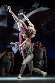 "Marianela Nunez and Nehemiah Kish in ""Aeternum."" Photo © ROH / Johan Persson, 2013."