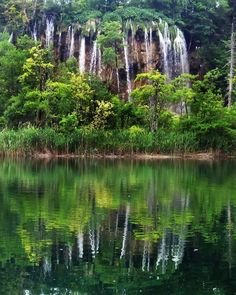 Colleen Carr shares this photo of Plitvice Lakes National Park in Croatia. Would love for us to go on a long hike here! Oh The Places You'll Go, Places To Visit, Plitvice Lakes National Park, Science Nature, The Great Outdoors, Wonders Of The World, Travel Photos, Waterfall, Beautiful Places