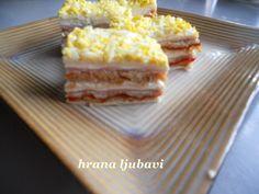 Recept Slana rozen torta