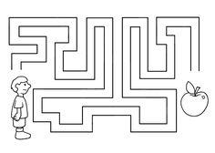 (2016-12) Æble, let Printable Preschool Worksheets, Worksheets For Kids, Coloring Pages For Kids, Coloring Sheets, Motor Activities, Activities For Kids, Logic Games For Kids, Mazes For Kids, Kids English