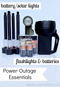 DIY Power Outage Essentials Kit #PrepWithPower #shop #cbias