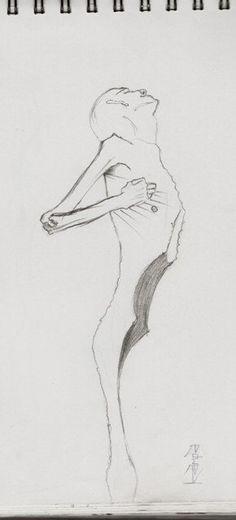 Asenso sketch.    By. kmpa.