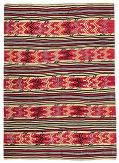 Striped kilim design retro style rug with a size of feet. This vintage rug is from Balıkesir, Turkey. Balıkesir rugs are famous with kilim designs between stripes. Kilims, Turkish Kilim Rugs, Vintage Rugs, Retro Fashion, Bohemian Rug, Stripes, Blue, Design, Decor