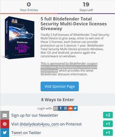14 Best Bitdefender images   Coupon, Coupons, Antivirus software