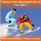 Yoga for Snow Sports Volume 1 is a yoga class suitable for beginners it will enhance performance on the slopes, speed up recovery time and help to prevent injuries.