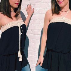 """Wear it 2 ways! The """"Rosemary"""" tube top is made from a light gauzy fabric and features a drop waist. ($48) Now on Sanitystyle.com and in store!    FREE SHIPPING  Sanitystyle.com  440.893.9279 sales@sanitystyle.com  to order or shop in store    #sanitystyle #sanitychagrinfalls #shoplocal #chagrinfalls #shopchagrinfalls #boutique #freeshipping #cleveland #clevelandfashion #clevelandstyle #style #shop #cle #thisiscle #love #selloninsta #instasale #fashionpost #beautiful #picoftheday #shopping…"""