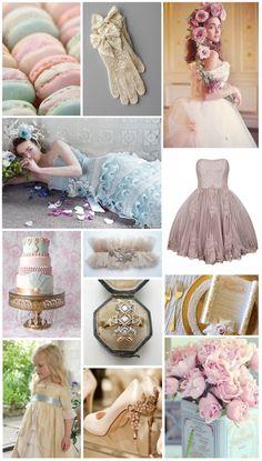 Laduree/Tea/Pastel Bridal Shower ~ Marie Antoinette Prettiness