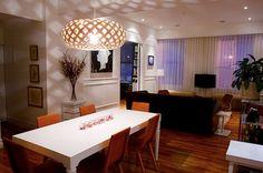 luminaria na sala