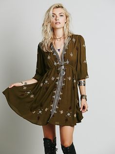 Free People Stargazer Mini Dress, £98.00