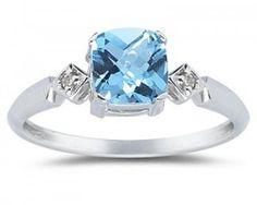 Blue Topaz: December's Gemstone | ApplesofGold.com