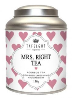 Tafelgut Mrs. Right Tea, Roibosteemischung Vanille