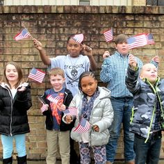 29a0aa645af Safety Ball Top Mini US Flags - Perfect for the young ones at parades!