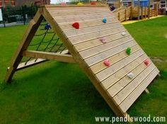 Image result for diy kids climbing wall