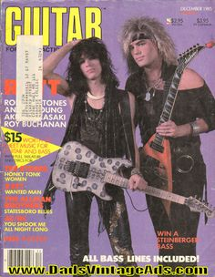 1985 December Guitar For The Practicing Musician Magazine Back-Issue