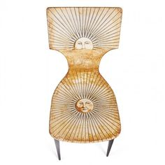 PIERO FORNASETTI Four rare and early Sun chairs : Lot 744